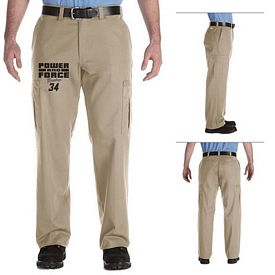 Customized Dickies 2112372 Men's 7.75 oz Premium Industrial Cargo Pant