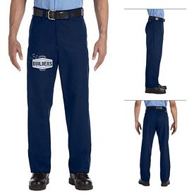 Customized Dickies LP812 Men's 7.75 oz Industrial Flat Front Pant