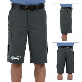 Customized Dickies LR542 Men's 7.75 oz Premium Industrial Cargo Short