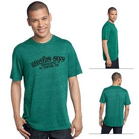 Customized District Made DM370 Men's Textured Crew Tee