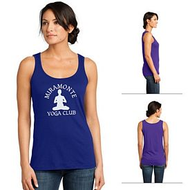 Customized District Made DM481 Ladies' Modal Blend Tank