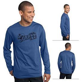 Customized District Made DT105 Men's Perfect Weight Long Sleeve Tee