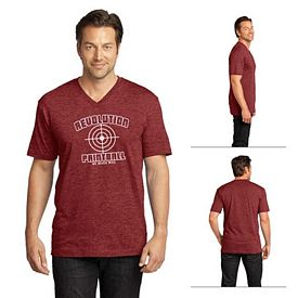 Customized District Made DT1170 Men's Perfect Weight V-Neck Tee