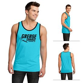Customized District DT1500 Young Men's Cotton Ringer Tank