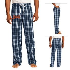 Customized District DT1800 Young Men's Flannel Plaid Pant
