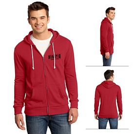 Customized District DT190 Young Men's Core Fleece Full-Zip Hoodie