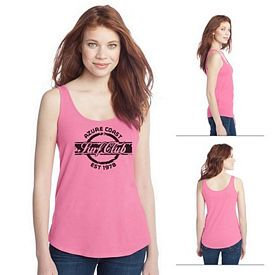 Customized District DT2500 Junior Ladies' Cotton Swing Tank