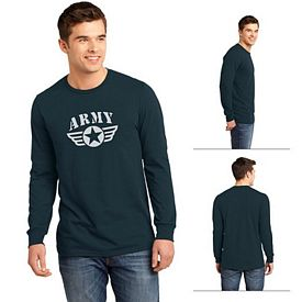 Customized District DT5200 Young Men's The Concert Tee Long Sleeve