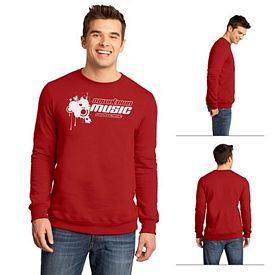 Customized District DT820 Young Men's The Concert Fleece Crew