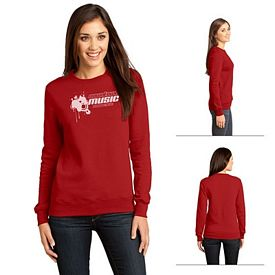 Customized District DT821 Junior Ladies' The Concert Fleece Crew