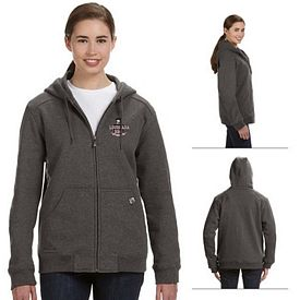 Customized Dri-Duck 9570 Ladies' Wildfire Zippered Hoodie