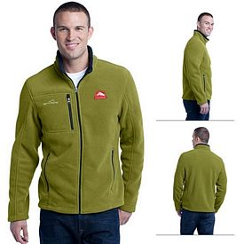 Customized Eddie Bauer EB200 Men's Full-Zip Fleece Jacket