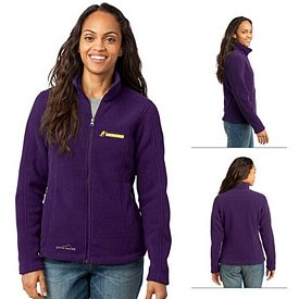 Customized Eddie Bauer EB201 Ladies' Full-Zip Fleece Jacket