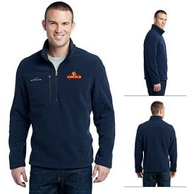 Customized Eddie Bauer EB202 Adult 1/4-Zip Fleece Pullover