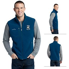 Customized Eddie Bauer EB204 Men's Fleece Vest