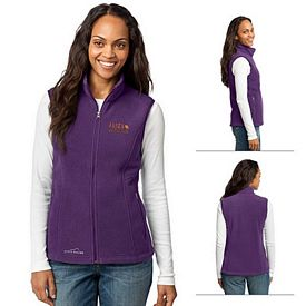 Customized Eddie Bauer EB205 Ladies' Fleece Vest