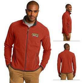 Customized Eddie Bauer EB222 Men's Full-Zip Vertical Fleece Jacket