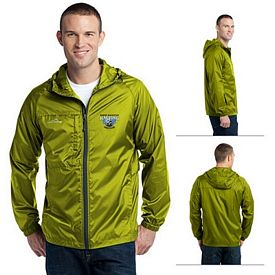 Customized Eddie Bauer EB500 Men's Packable Wind Jacket