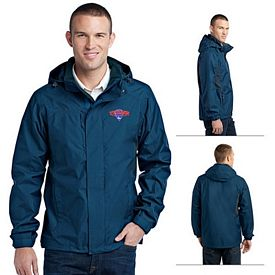 Customized Eddie Bauer EB550 Men's Rain Jacket