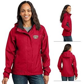 Customized Eddie Bauer EB551 Ladies' Rain Jacket