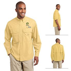 Customized Eddie Bauer EB606 Long Sleeve Fishing Shirt