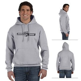 Customized Fruit of the Loom 82130 Adult 12 oz Supercotton 70/30 Pullover Hood