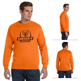 Customized Gildan 12000 Adult 9.3 oz DryBlend Crewneck Sweatshirt