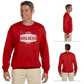 Customized Gildan 18000 Adult 8 oz Heavy Blend Crewneck Sweatshirt