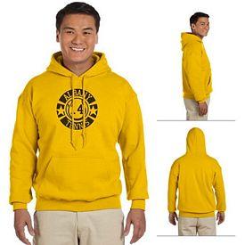Customized Gildan 18500 Adult 8 oz Heavy Blend Hooded Sweatshirt