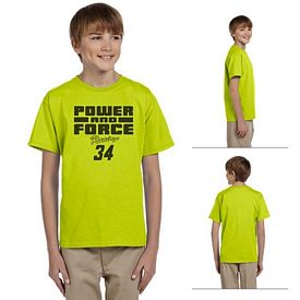 Customized Gildan 2000B 6 oz Youth Ultra Cotton T-Shirt