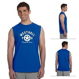 Customized Gildan 2700 Adult 6 oz Ultra Cotton Sleeveless T-Shirt