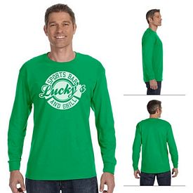 Customized Gildan 5400 Adult 5.3 oz Heavy Cotton Long-Sleeve T-Shirt