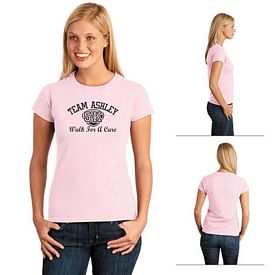 Customized Gildan 64000L Ladies' Softstyle Cotton T-Shirt