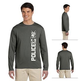 Customized Gildan 64400 Men's 4.5 oz SoftStyle Junior Fit Long-Sleeve T-Shirt