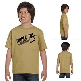 Customized Gildan 8000B Youth 5.6 oz DryBlend Poly-Cotton T-Shirt
