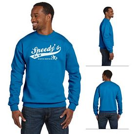 Customized Gildan 92000  8.5 oz Premium Cotton Ringspun Crew Sweatshirt