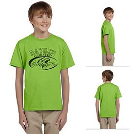 Customized Hanes 5370 Youth 5.5 oz 50/50 ComfortBlend EcoSmart T-Shirt