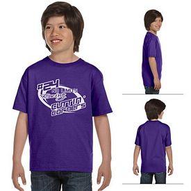 Customized Hanes 5480 Youth 5.2 oz ComfortSoft Cotton T-Shirt