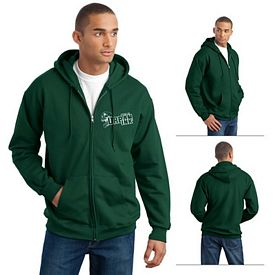 Customized Hanes F283 Adult 10 oz Ultimate Cotton 90/10 Hooded Sweatshirt
