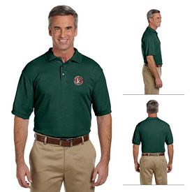 Customized Harriton M280 Mens 5 oz Easy Blend Plus Polo