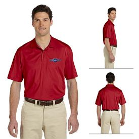 Customized Harriton M354 Mens 3.8 oz Micro Pique Polo