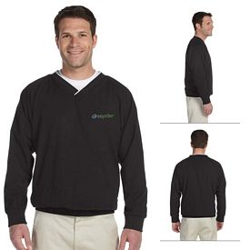 Customized Harriton M700 Microfiber Wind Shirt