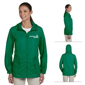 Customized Harriton M765W Ladies Essential Rainwear