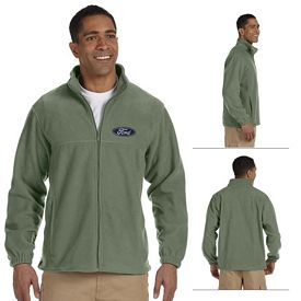 Customized Harriton M990 Mens Full-Zip Fleece