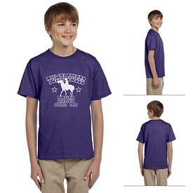 Customized Jerzees 363B Youth 5 oz HiDENSI-T T-Shirt