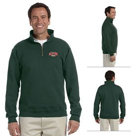 Customized Jerzees 4528 9.5 oz Super Sweats 50/50 Quarter-Zip Pullover