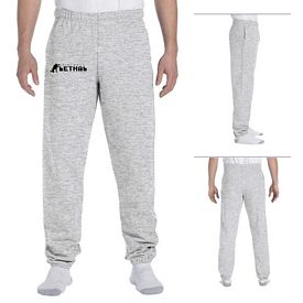 Customized Jerzees 4850P 9.5 oz Super Sweats 50/50 Sweatpants