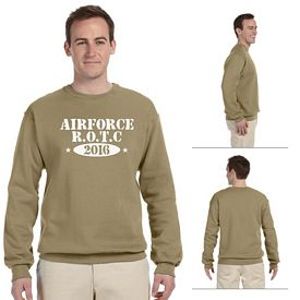 Customized Jerzees 562 8 oz NuBlend 50/50 Fleece Crew Sweatshirt