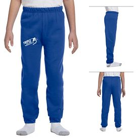 Customized Jerzees 973B Youth 8 oz NuBlend 50/50 Sweatpants
