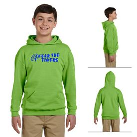 Customized Jerzees 996Y Youth 8 oz NuBlend 50/50 Pullover Hood